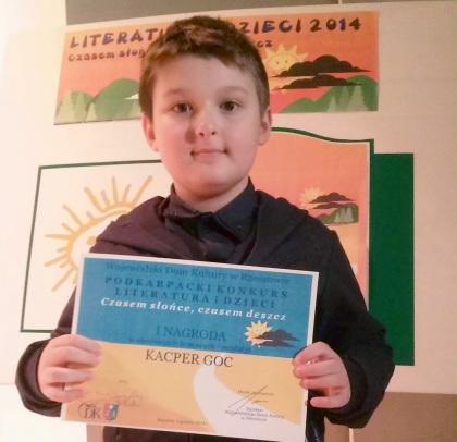 Laureaci konkursu Literatura i Dzieci 2014