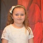 WYRÓŻNIENIE Natalia Janik z Przedszkola nr 15 w Stalowej Woli