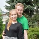 NAGRODASzymon Maziarz i Katarzyna Porębska z Gimnazjum Katolickiego