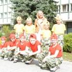"""WYRÓŻNIENIE  Zespołu Tańca Estradowego """"FOKUS II"""" ze SP nr 1 w Gorzycach"""