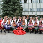 """GĘSIE PIÓRO  Zespół Pieśni i Tańca """"Lajkonik""""  z ZS w Budach Głogowskich"""