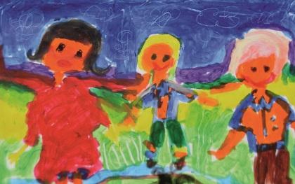 Wystawa plastyczna dzieci
