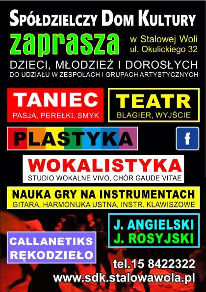 Zajęcia artystyczne 2016/2017