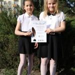 Duet Lena i Dorotka z PSP nr 3 w Stalowej Woli