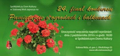 """24 finał konkursu """"Pamiętajcie o ogrodach i balkonach"""""""