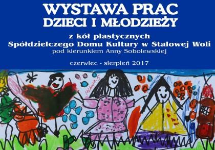 Wernisaż wystawy prac dzieci i młodzieży