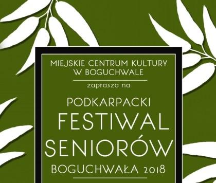 XV Podkarpacki Festiwal Seniorów 2018