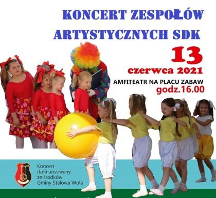 Koncert Zespołów SDK