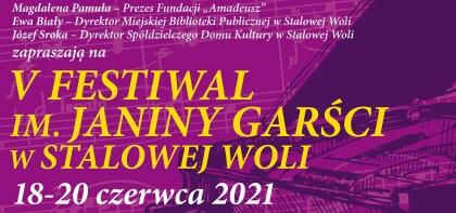 V Festiwal im. Janiny Garści w Stalowej Woli