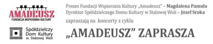"""""""AMADEUSZ"""" zaprasza"""
